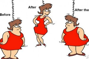 Igen, állandóan a súlyommal küzdök