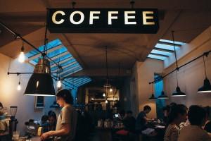 Kávézóban