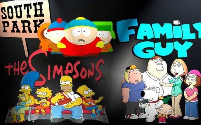 South Park, Family Guy vagy A Simpson család rajongó vagy?