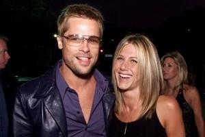 Első felesége, Jennifer Aniston színésznő