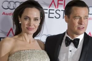 Második felesége, Angelina Jolie színésznő