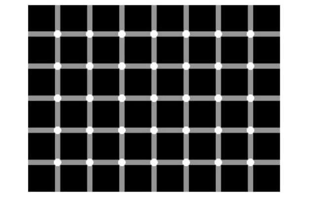 Fehér vagy fekete pontok vannak a képen?