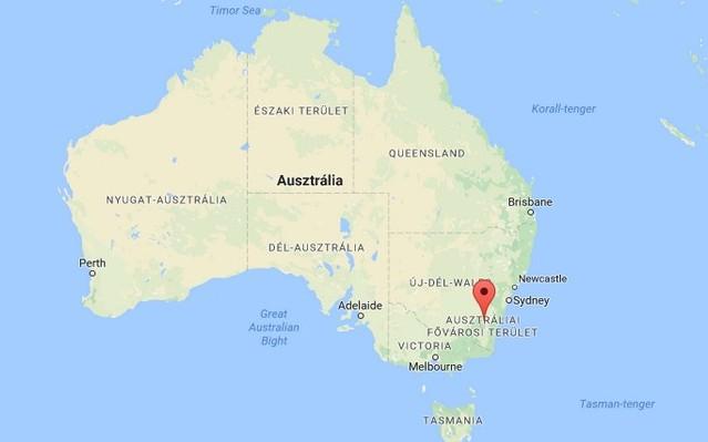 Ausztrália fővárosa Canberra