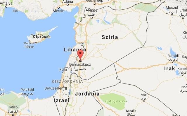 Szíria fővárosa Damaszkusz