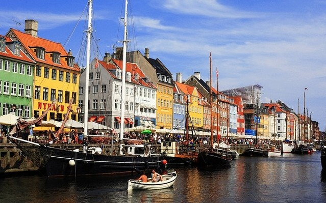 Dánia fővárosa Koppenhága