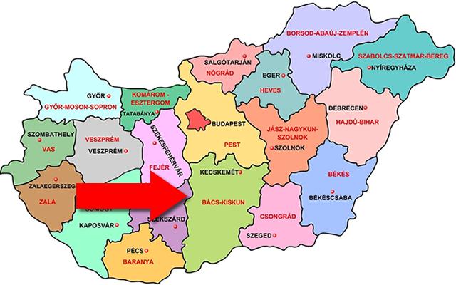 Bács megye