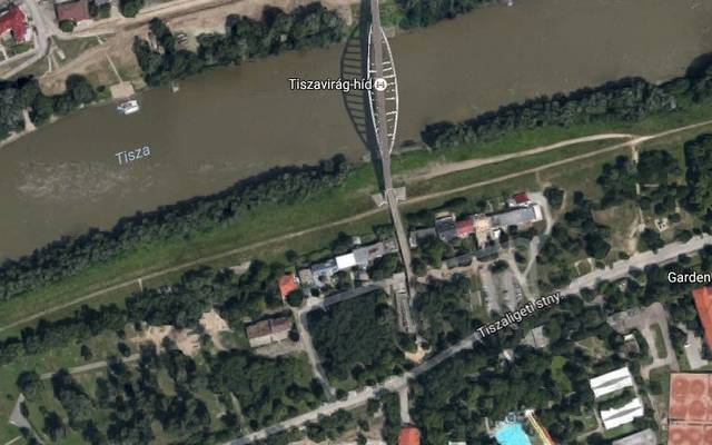 Melyik magyar nagyváros műholdképe ez?
