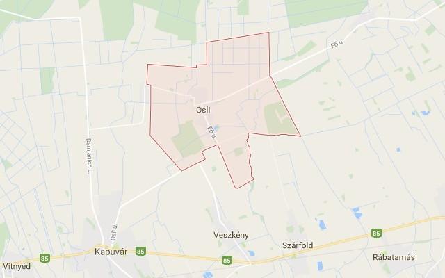 Osli község Győr-Moson-Sopron megyében