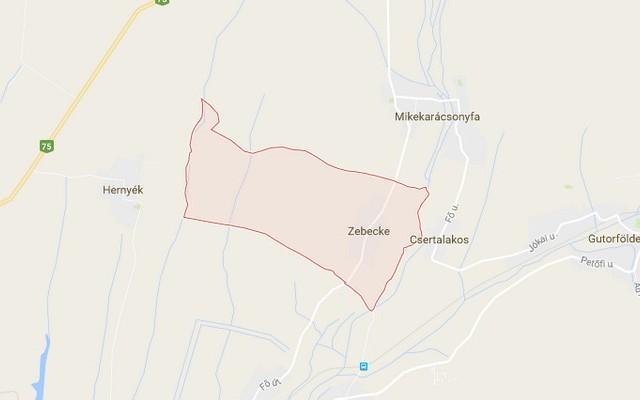 Zebecke község Zala megyében