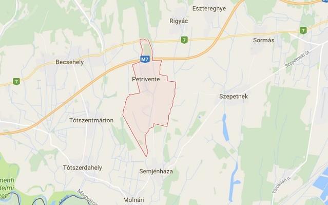 Petrivente község Zala megyében