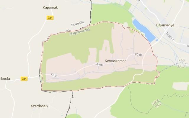 Kercaszomor község Vas megyében
