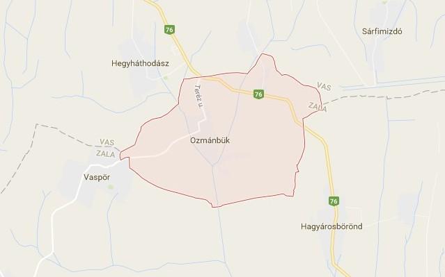 Ozmánbük: község Zala megyében