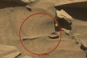 A fotó valóban a Marson készült, és bizonyíték, hogy valaki(k) már jártak ott.