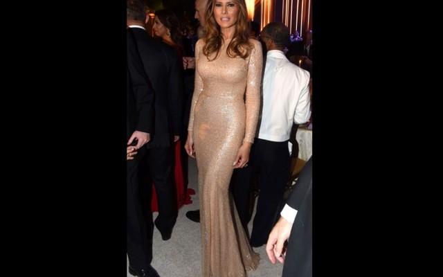 Az új first lady estélyije vonzotta a tekinteteket - Neked hogy tetszik?