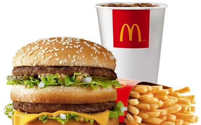 Big Mac menü (Big Mac, nagy krumpli és kóla)