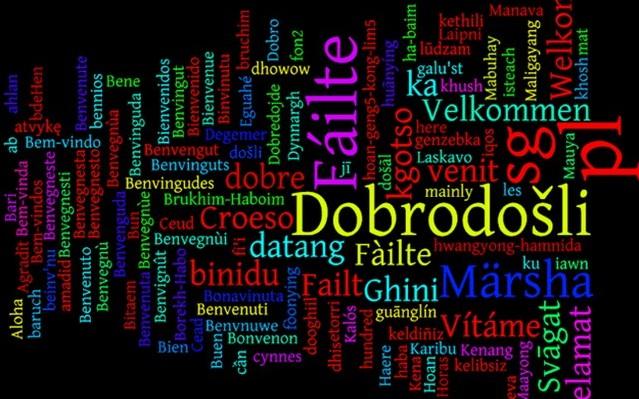 Vi ćete naučiti kako znati strane jezike. Milyen nyelven írták?