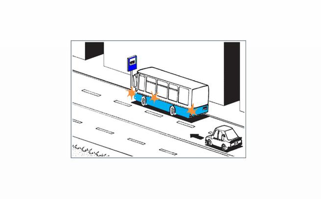 Magad elé kell engedned az autóbuszt?