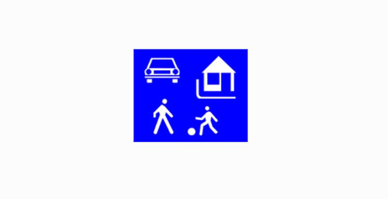 Milyen sebességgel közlekedhetsz a táblával megjelölt övezetben?