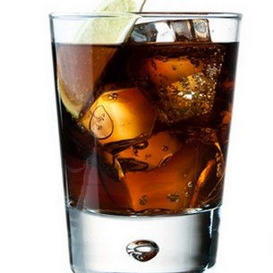 Whiskyt kolával
