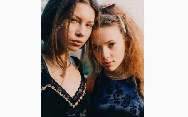 Melyik két amerikai színésznő látható a képen?