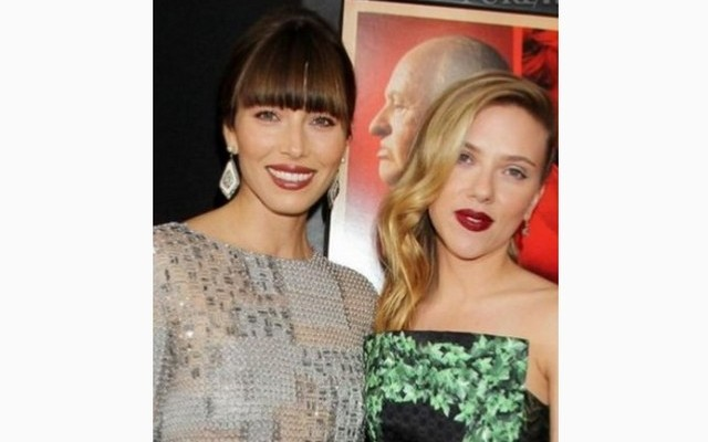Jessica Biel és Scarlett Johansson