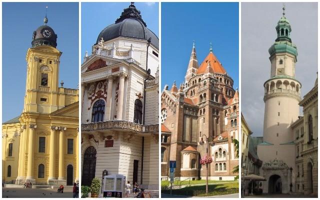 Felismered ezeket a híres magyar épületeket?