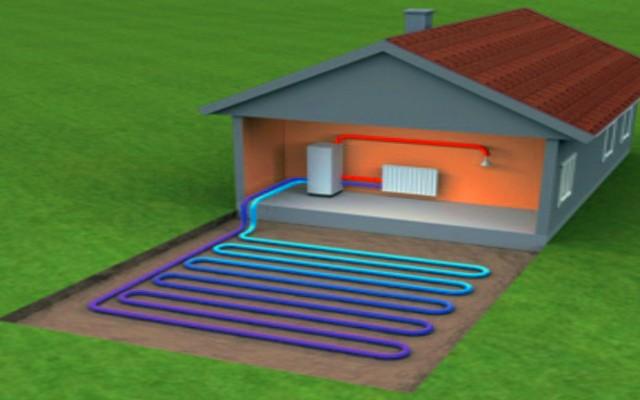 A hőszivattyú levegőből, vízből, talajból energiát nyerő berendezés.