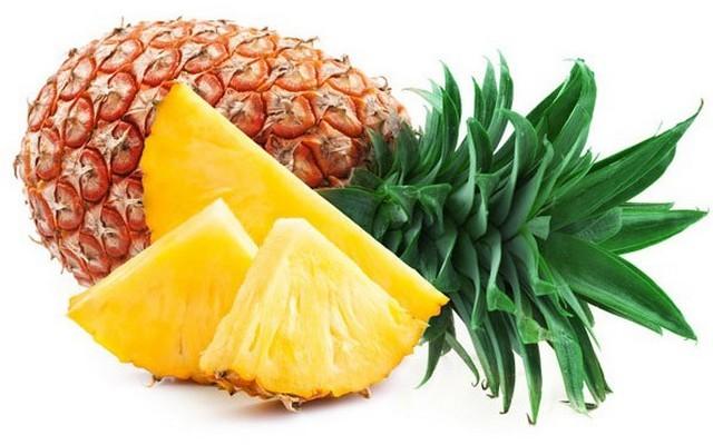 Az ananász, melyik részét fogyasztjuk?