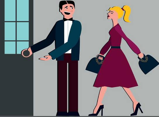 Minden esetben előre kell engedni a nőt az ajtóban?