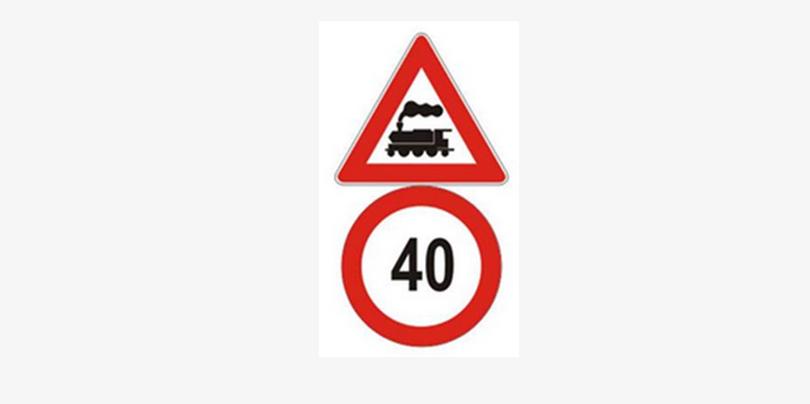 Meddig tart a képen látható táblával jelzett sebességkorlátozás?