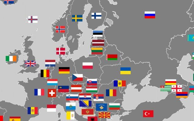 Vaktérképekről is felismered az európai országokat?