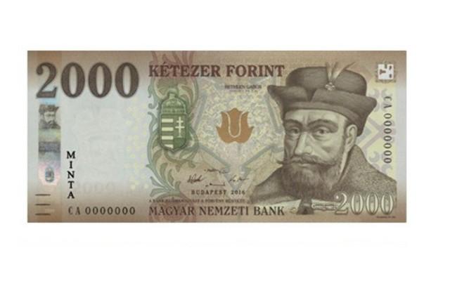 2000 Ft-os, Bethlen Gábor