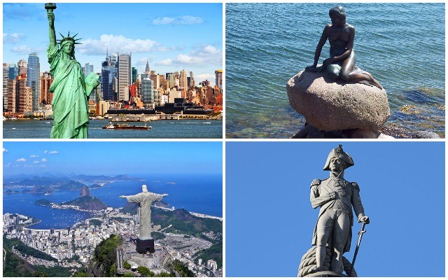 Felismered ezeket a világhírű szobrokat?