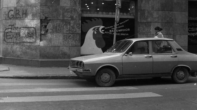 Milyen autó ez? (1979-es fotó: Fortepan, Urbán Tamás)