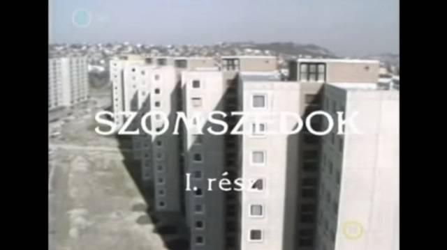 Melyik lakótelepen játszódik a Szomszédok-teleregény?