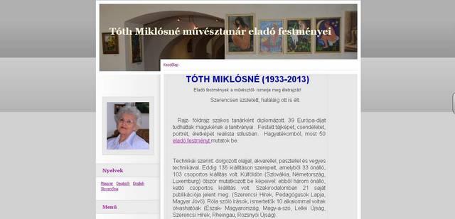 http://www.tothmiklosnegaleria.hu/