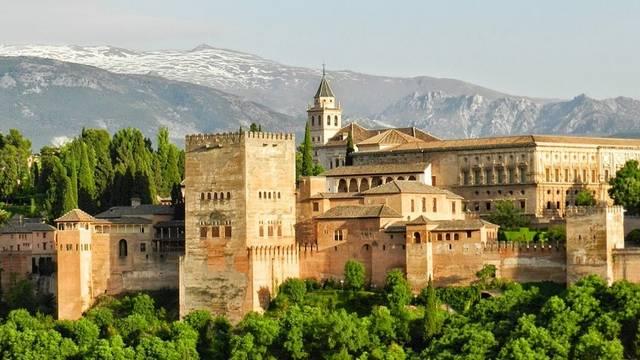 Melyik ORSZÁGBAN van ez a híres mór erőd és palota?
