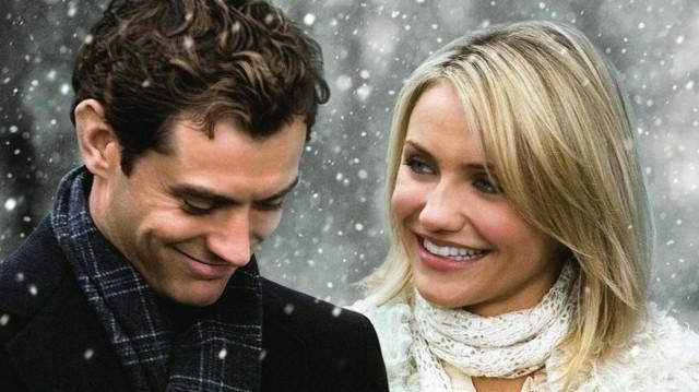 Melyik karácsonyi filmből van ez a képrészlet?  A kép főszereplő: Cameron Diaz és Jude Law