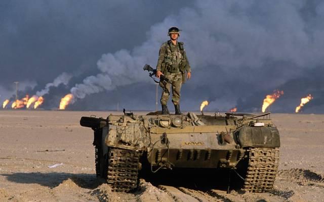 Az Öbölháború néven elhíresült fegyveres konfliktus a Perzsa-öbölben