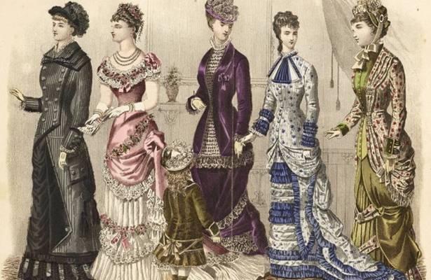 Melyik kor divatját ábrázolja a kép?