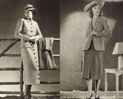 Melyik kor divatja szerint vannak öltözve a hölgyek?