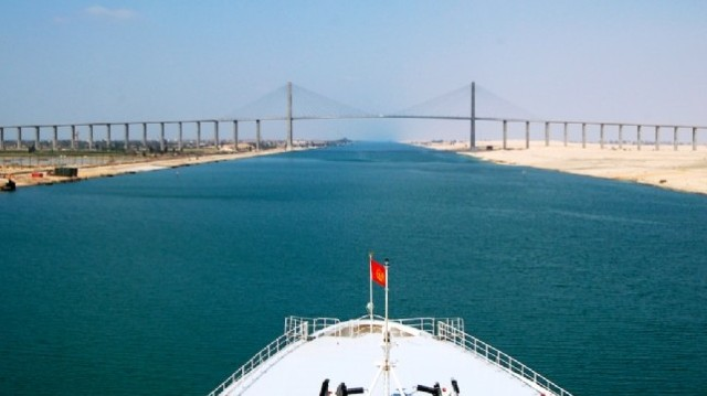 Mi köti össze a Földközi- és a Vörös-tengert?