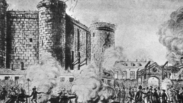 Mikor volt a francia forradalom?  (Bastille lerombolása)