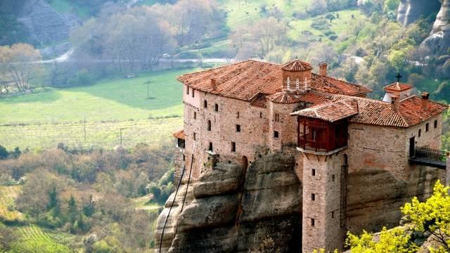 Melyik ország kolostorvidéke a Meteorák?