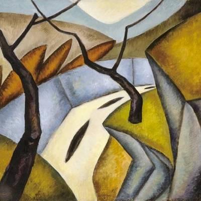 Melyik kép lehet egy kubista festő alkotása?