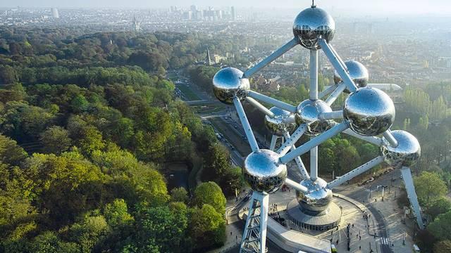 Hogy nevezik Brüsszel egyik jelképét, amelyik a világkiállításra készült?