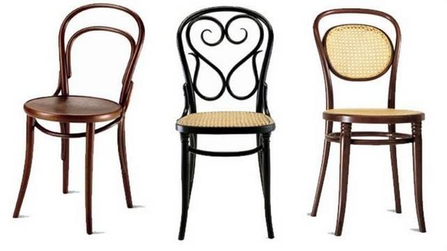 Hogyan nevezik a hajlított fából készült székeket?