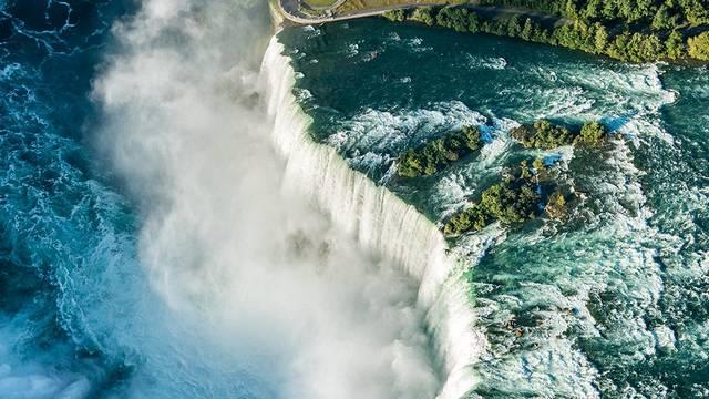 Hol helyezkedik el a Niagara-vízesés?