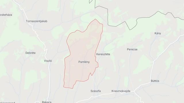 Pamlény község Borsod-Abaúj-Zemplén megyében