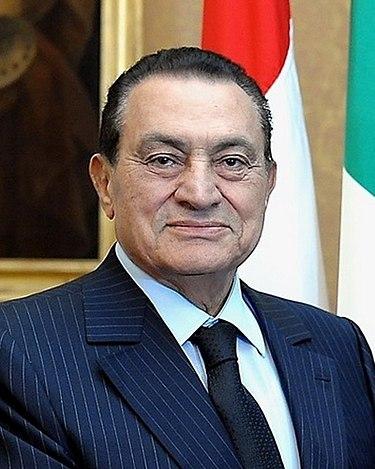 Hoszni Mubárak